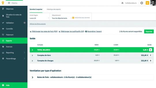 Cleemy se connecte à votre solution paye pour y intégrer les données nécessaires afin de rembourser les frais engagés par vos salariés et établir vos DSN.